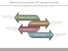 Effective Communication Ppt Sample Download