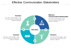 Effective Communication Stakeholders Ppt PowerPoint Presentation Layouts Summary Cpb