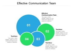Effective Communication Team Ppt PowerPoint Presentation Icon Graphic Tips Cpb
