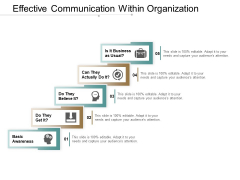 Effective Communication Within Organization Ppt PowerPoint Presentation Summary Outline
