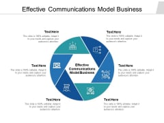 Effective Communications Model Business Ppt PowerPoint Presentation Show Picture Cpb