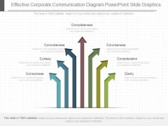 Effective Corporate Communication Diagram Powerpoint Slide Graphics