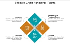 Effective Cross Functional Teams Ppt PowerPoint Presentation Summary Inspiration Cpb