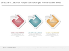 Effective Customer Acquisition Example Presentation Ideas
