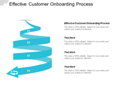 Effective Customer Onboarding Process Ppt PowerPoint Presentation Ideas Deck