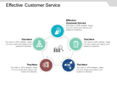 Effective Customer Service Ppt Powerpoint Presentation Model Grid Cpb