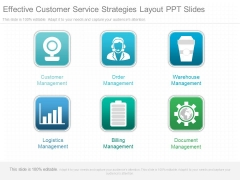 Effective Customer Service Strategies Layout Ppt Slides