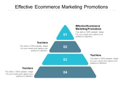 Effective Ecommerce Marketing Promotions Ppt PowerPoint Presentation File Template Cpb