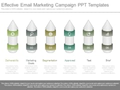 Effective Email Marketing Campaign Ppt Templates
