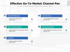 Effective Go To Market Channel Pan Ppt PowerPoint Presentation Portfolio Outline PDF