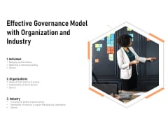 Effective Governance Model With Organization And Industry Ppt PowerPoint Presentation Gallery Deck PDF