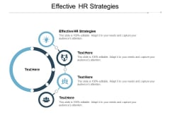 Effective HR Strategies Ppt PowerPoint Presentation Professional Template