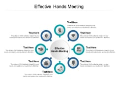 Effective Hands Meeting Ppt PowerPoint Presentation Ideas Inspiration Cpb