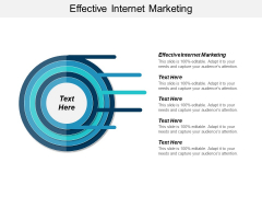 Effective Internet Marketing Ppt PowerPoint Presentation Visual Aids Styles Cpb