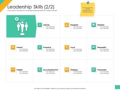Effective Management Styles For Leaders Leadership Skills Strategic Topics PDF