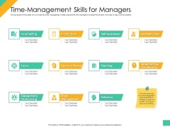 Effective Management Styles For Leaders Time Management Skills For Managers Pictures PDF