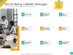 Effective Management Styles For Leaders Tips For Being A Better Manager Designs PDF