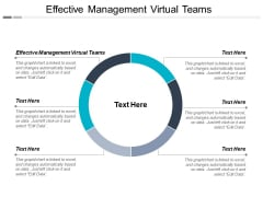 Effective Management Virtual Teams Ppt PowerPoint Presentation Infographics Ideas Cpb