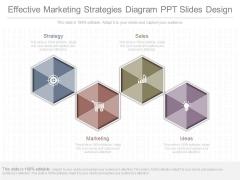 Effective Marketing Strategies Diagram Ppt Slides Design