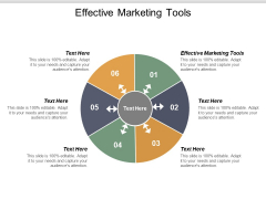 Effective Marketing Tools Ppt PowerPoint Presentation Styles Sample Cpb