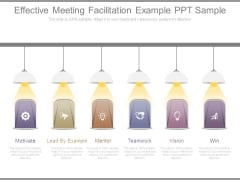 Effective Meeting Facilitation Example Ppt Sample