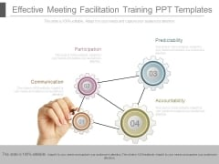 Effective Meeting Facilitation Training Ppt Templates