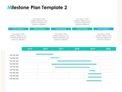 Effective Milestone Scheduling Approach Milestone Plan 2015 Ppt PowerPoint Presentation Summary Display PDF