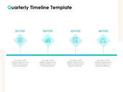 Effective Milestone Scheduling Approach Quarterly Timeline Template Ppt PowerPoint Presentation Slides Professional PDF