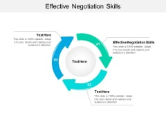 Effective Negotiation Skills Ppt PowerPoint Presentation Styles Example File Cpb