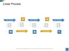 Effective Outcome Launch Roadmap Linear Process Ppt Diagram Ppt PDF