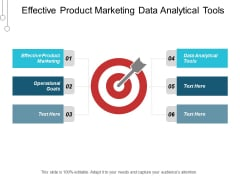 Effective Product Marketing Data Analytical Tools Operational Goals Ppt PowerPoint Presentation Layouts Good