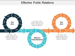 Effective Public Relations Ppt PowerPoint Presentation Professional Samples Cpb