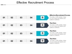 Effective Recruitment Process Ppt PowerPoint Presentation Model Mockup Cpb