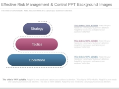 Effective Risk Management And Control Ppt Background Images