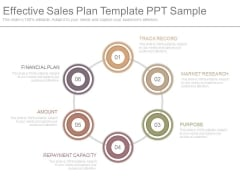 Effective Sales Plan Template Ppt Sample