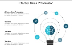 Effective Sales Presentation Ppt Powerpoint Presentation Show Slides Cpb