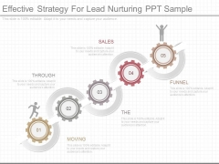 Effective Strategy For Lead Nurturing Ppt Sample