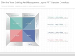 Effective Team Building And Management Layout Ppt Samples Download