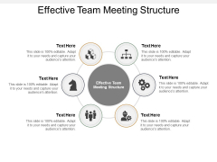 Effective Team Meeting Structure Ppt PowerPoint Presentation Show Ideas Cpb