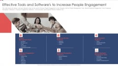 Effective Tools And Softwares To Increase People Engagement Ppt Summary Graphics Tutorials PDF