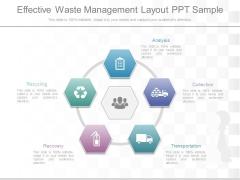 Effective Waste Management Layout Ppt Sample