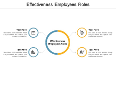 Effectiveness Employees Roles Ppt PowerPoint Presentation Styles Shapes Cpb