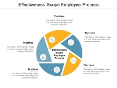 Effectiveness Scope Employee Process Ppt PowerPoint Presentation Show Layout Ideas Cpb