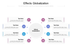 Effects Globalization Ppt PowerPoint Presentation Model Background Images Cpb