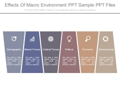 Effects Of Macro Environment Ppt Sample Ppt Files