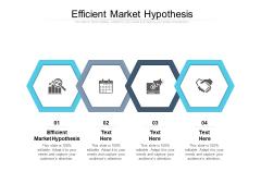 Efficient Market Hypothesis Ppt PowerPoint Presentation Ideas Graphics Template Cpb Pdf