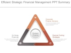 Efficient Strategic Financial Management Ppt Summary