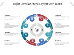 Eight Circular Steps Layout With Icons Ppt PowerPoint Presentation Slides Sample PDF