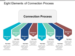 Eight Elements Of Connection Process Ppt Powerpoint Presentation Icon Design Inspiration