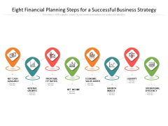 Eight Financial Planning Steps For A Successful Business Strategy Ppt PowerPoint Presentation Gallery Graphics Download PDF